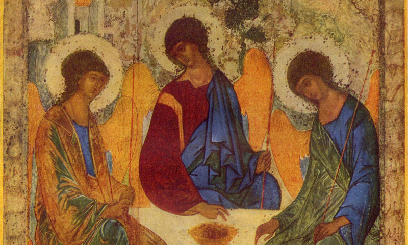 Andrej Rublëv, Angels at Mamre (Holy Trinity)