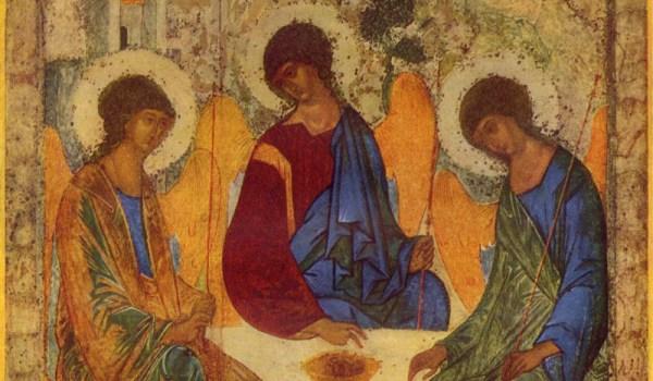Andrej Rublëv, Angels at Mamre (Holy Trinity)