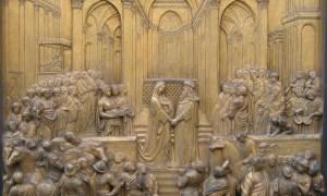Ghiberti, Solomon meets the Queen of Sheba