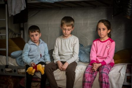 Displaced Iraqi Children
