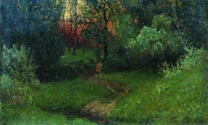Isaac Levitan, Trail in the Forest