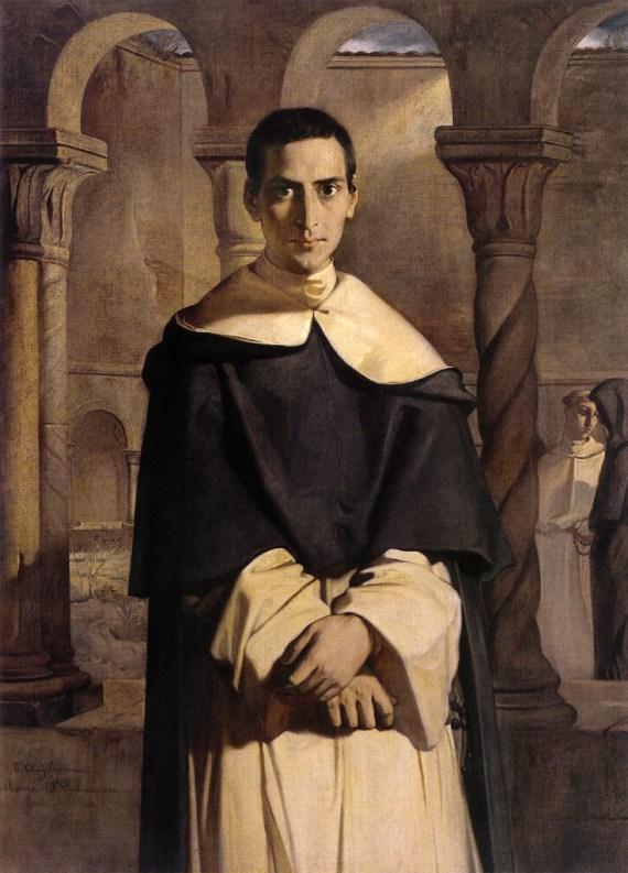 Théodore Chassériau — Portrait of Lacordaire