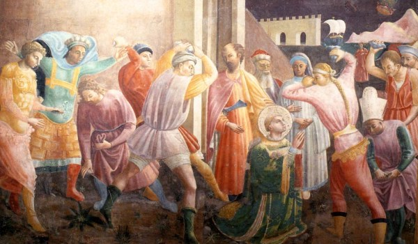 Paolo Uccello, Stoning of Saint Stephen