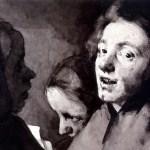 Theodule Ribot, Conversation Piece: Three Heads