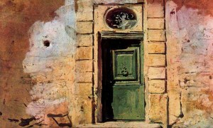 Giovanni Boldini, Door in Montmartre