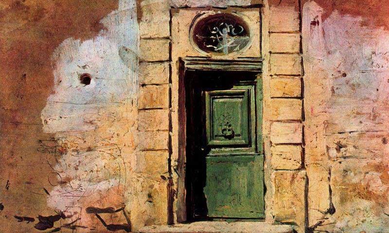 Giovanni Boldini, Door in Montmartre