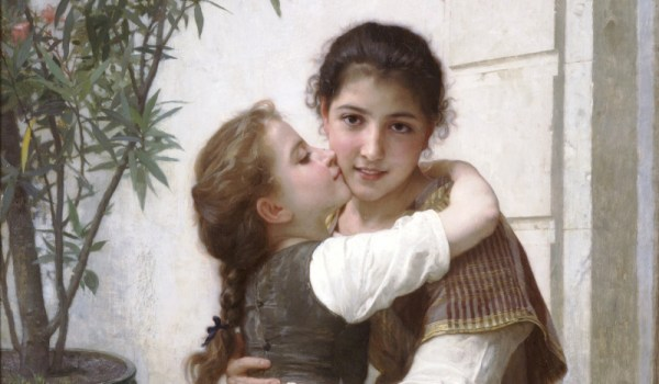 William-Adolphe Bouguereau, A Little Coaxing