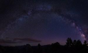 Milky Way Arc over Yosemite by Rodrigo Soares
