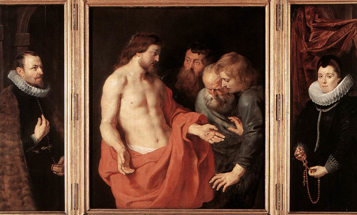 Image: Peter Paul Rubens, The Incredulity of St. Thomas.