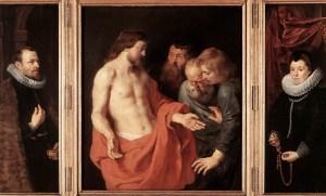 Image: Peter Paul Rubens, The Incredulity of St. Thomas.