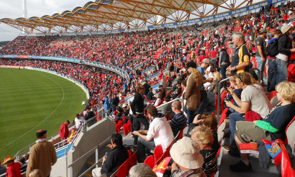 Gold Coast Suns Crowd