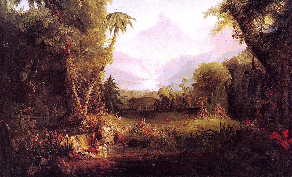 Thomas Cole, The Garden of Eden