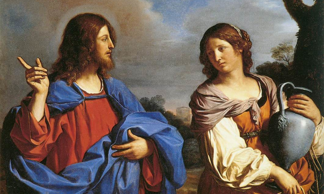 Guercino, Jesus and the Samaritan Woman at the Well