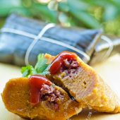 Pasteles en Hoja (Roots and Beef Pockets)