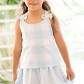 Top and Skirt for Girl (Free Pattern Inside)