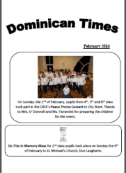 School-newsletter-Feb 2014-cover