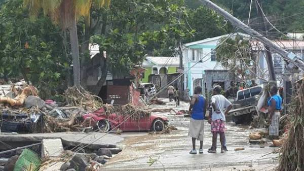 Nine villages declared special disaster areas | Dominica ...