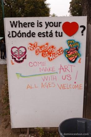 come make art with us