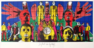 Death after Life Signed  by  Gilbert & George