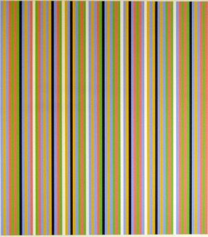Light Between Signed  by Bridget Riley