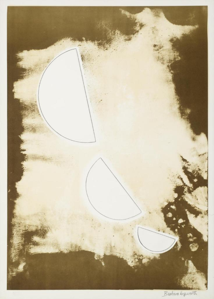 Desert Forms Signed  by Barbara Hepworth