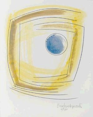 Winter Solstice Signed  by Barbara Hepworth