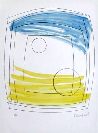 Moonplay Signed  by Barbara Hepworth