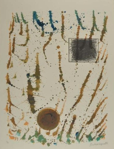 Forms in a flurry Signed  by Barbara Hepworth