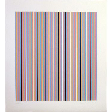 Brouillard Signed  by Bridget Riley