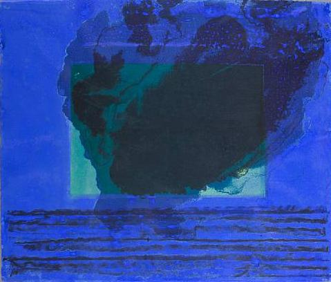 A Storm Signed  by Howard Hodgkin