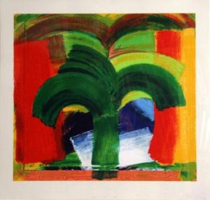 In Tangier Signed  by Howard Hodgkin