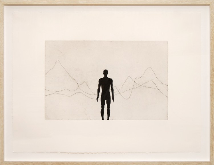 Horizon Field Signed  by Antony Gormley