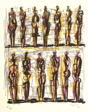thirteen-standing-figures