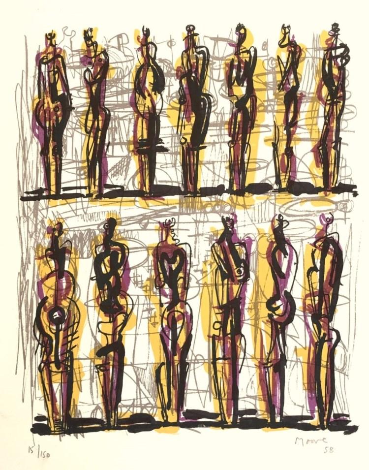 thirteen-standing-figures