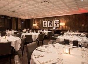 Houston Steak 48 dining room