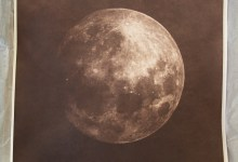 Print of the moon