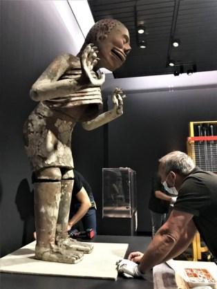 4. Montaje de la exposición Azteca, en el Museo de Etnología de Leiden, en el Reino de los Países Bajos. Foto Itzia Villicana. CNME-INAH (5)