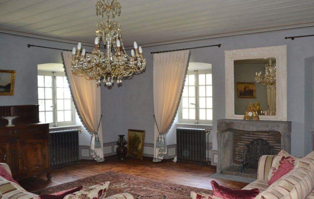 artisan décoration prestige rénovation de chateau en auvergne haute 43