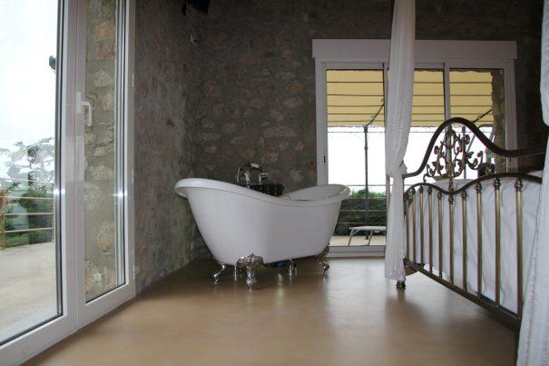 béton ciré pour salle de bains à st etienne