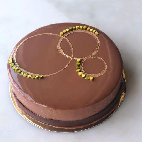 DAB Large black cardamom pistachio cake