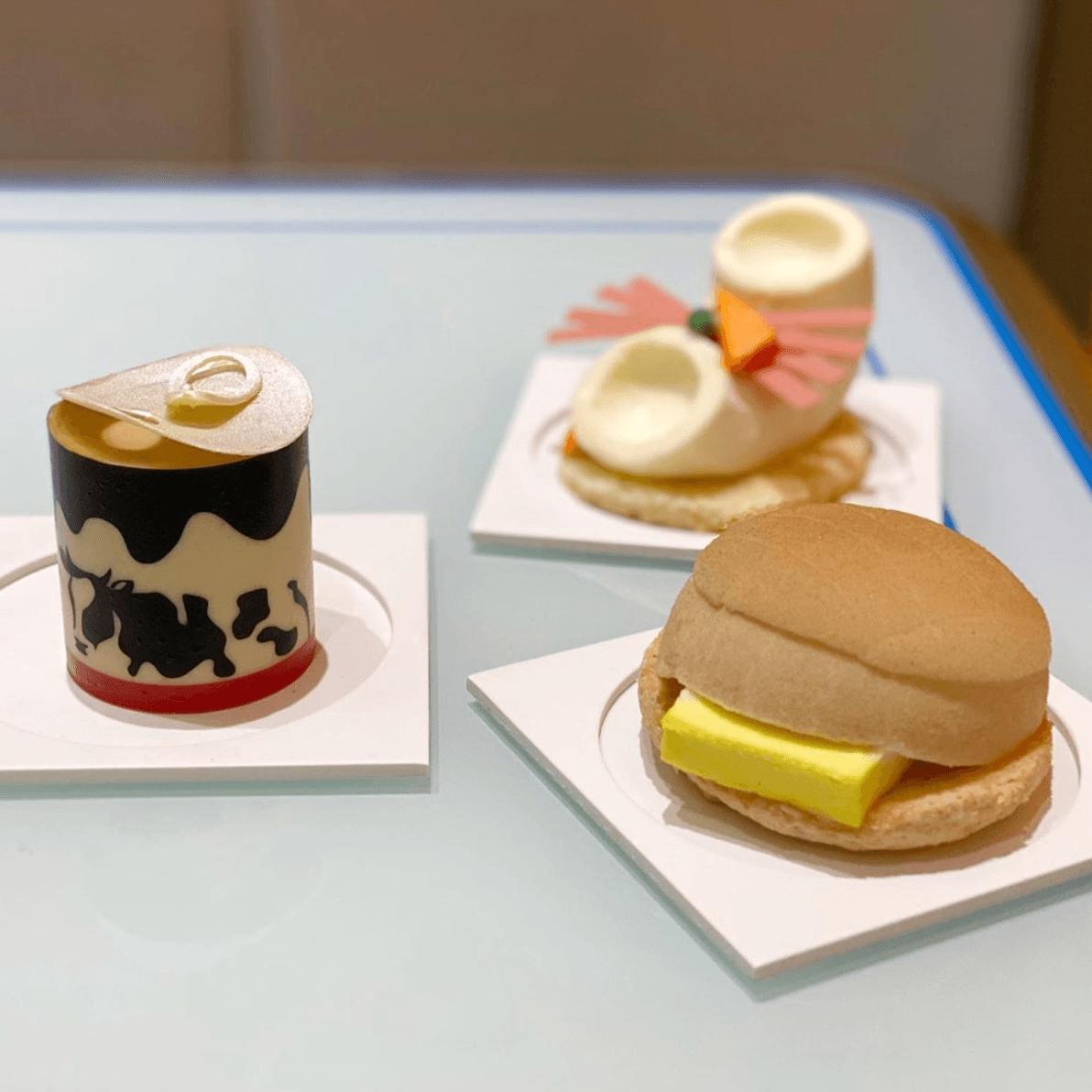Dang Wen Li pastries