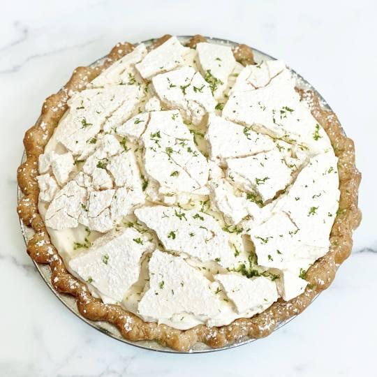 DAB Pie Night 2020 Passionfruit Coconut Cream Pie