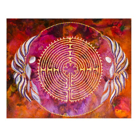 Oasis of Inspiration intuitive painting