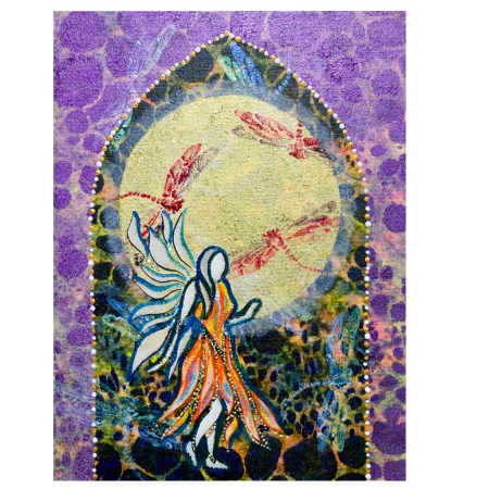 Pixie Portal intuitive painting