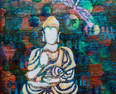 Shanti - intuitive painting