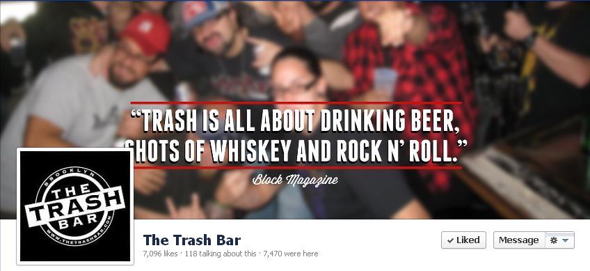 Trash bar Banner