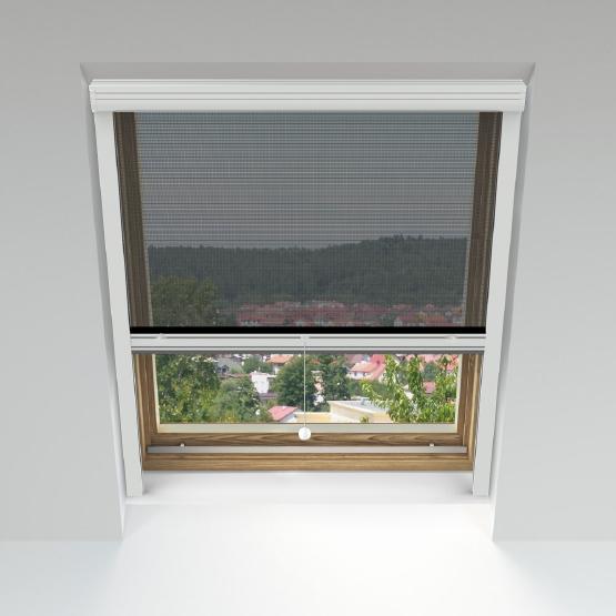 moustiquaire enroulable pour fenetres de toit