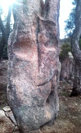 Pietra locale erosa dal vento e dal tempo - Ornamental local stone
