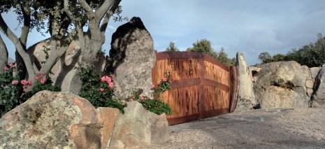 Realizzazione cancello in legno - wooden gate realization