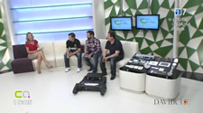 Presentación en la televisión del proyecto DHCompliant II